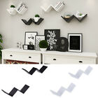 Large Rechargeable LED Floating Wall Shelves illuminated Wooden Display Storage