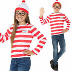 Kids Where's Wally Costume Kit Fancy Dress Book Week Waldo Wanda Wenda Smiffys