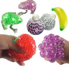 Novelty Fruit Ball Squeeze Frogs Ice Cream Squishy Stress Relief Toy Gift BB
