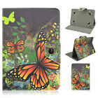 """For Barnes & Noble Nook HD+ 9"""" / HD 7"""" Tablet Universal Leather Stand Case Cover"""