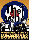 THE WHO Concert Poster - Giclee Reproduction Full Colour Wall Art Print