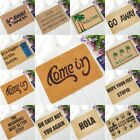 Letter Funny Welcome Home Entrance Floor Rugs Non-slip Doorm