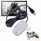 Black/white PC Wireless Controller Gaming USB Receiver Adapter for XBOX 360 TO