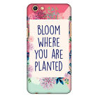 Bloom Where You Are HARD Protector Case Snap On Slim Phone Cover Accessory