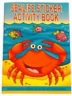SEA LIFE MINI A6 STICKER ACTIVITY BOOK KIDS PARTY BAG STOCKING FILLERS