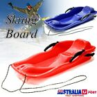 Skiing Board Sled Luge Snow Grass Sand Board Pad With Rope For Double People PY $29.99 AUD