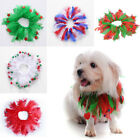 New Fashion Festival Dog Pet Scrunchie Christmas Holiday Neck Collar Accessories
