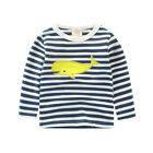 Boy Girl Kids Boy's Clothing Pattern Base Shirt Cotton T-Shirts Long Sleeve Tops