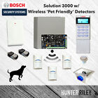 BOSCH Alarm System : Solution 3000 w/ Wireless Pet-Friendly Motion Detectors
