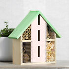 Green Wall Mounted Wooden Insect House H...