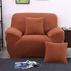 Sofa Covers Stretch Chair Cover Slipcover Solid 1 2 3 4 Seater Protector Couch