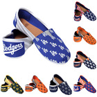 MLB Baseball Team Logo Womens Slip On Canvas Shoes - Choose Team on Ebay