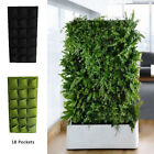 Wall Planter Bag Hanging Garden Vertical Greening Outdoor Home Plant Planting