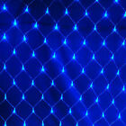 3x2m 210LED Net Mesh Xmas String Fairy Lamp Wedding Party Curtain Outdoor Lights