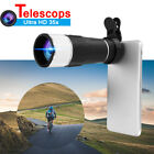 MOGE 35X Universal HD Optical Zoom Lens Phone Camera Monocular Telescope + Clip