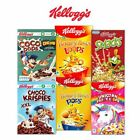 Kellogg's Coco Pops Chocos/Jumbos/Kelloggs Froot Loops/Honey Pops/Loops/Smacks
