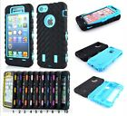 case full Cover 360°case hybrid tyre for Apple IPhone 4 5 6 7 8 Plus X