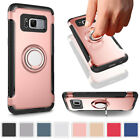 Magnet Slim Matte Hybrid Shockproof Rugged Case For Samsung Galaxy S7 Edge S8+
