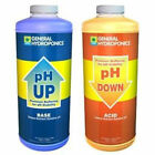 GENERAL HYDROPONICS PH UP / DOWN SOLUTIONS & TEST KIT - YOU CHOOSE (NOT RE-PACK)