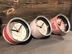 Retro Metal Ring Pull Tin Can Desk Office Clock Mothers Day Valentines Chic Gift