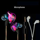 KZ-ZST Colorful Wired Stereo Extra Bass Earbuds Dual-unit HiFi In-ear Headphones