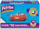 Huggies Pull Ups Training Pants for Boys 2T 3T 4T 5T Kids New Learning Designs