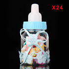 12/24X Fillable Bottles Candy Box Baby Shower Baptism Party Christening UK