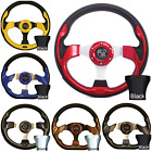 ULTIMATE GOLF CART STEERING WHEEL W/ ADAPTER CLUB CAR EZGO YAMAHA DS TXT DRIVE