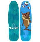 "Shipyard Skates ""Hot Dogger"" Skateboard Deck 8.25"" pop"
