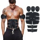 ABS EMS Remote Control Abdominal Muscle Trainer Smart Body Building Fitness USA image