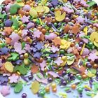 EASTER MIX Edible Sugar Glimmer Cupcake Cake Sprinkles Bunnies Chicks Decoration