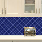 Square Home Tile Kitchen Bathroom Wall Window Vinyl Decals Sticker Skin Decor