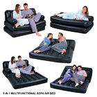 5in1 DOUBLE INFLATABLE AIR BED SOFA COUCH LOUNGER AIRBED MATTRESS ELECTRIC PUMP