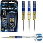 Steve Beaton 90% Tungsten Steel Tip Darts by Winmau - 22g or 24g - Blue and Gold