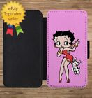 Betty Boop girl Leather Wallet Flip Phone Case Cover for iPhone 5 6 6S 7 Plus + $19.92 USD on eBay