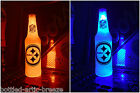 NFL Pittsburgh Steelers Football 12 oz Beer Bottle Light LED Neon sign tickets