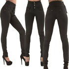 Women Stretch Skinny Denim Jeans Casual High Waist Jeggings Pencil Pants Trouser