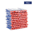 100~200X 7.2cm Refill Foam Darts For Nerf N-strike Elite Series Blasters bullets