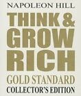 RARE Think and Grow Rich Napoleon Hill 15 AUDIO CDs 19.5 Hours Gold Standard NEW