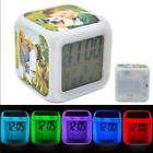 Personalised Alarm Clock Cube - 7 Color Changing LED Digital Alarm Clock - Gift