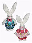 Ganz Easter Bunny Plush Shelf Sitter Boy or Girl  -  U Pick - FREE SHIPPING