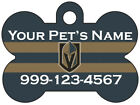 Las Vegas Golden Knights Custom Pet Id Dog Tag Personalized w/ Name $10.97 USD on eBay