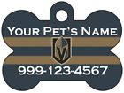 Las Vegas Golden Knights Custom Pet Id Dog Tag Personalized w/ Name $8.07 USD on eBay