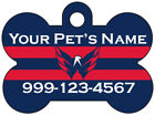Washington Capitals Custom Pet Id Dog Tag Personalized w/ Name & Number $9.87 USD on eBay