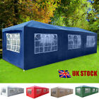 3 X 9m Waterproof Gazebo Garden Outdoor Camping Marquee Canopy Awning Party Tent