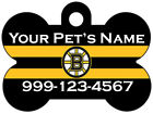 Boston Bruins Custom Pet Id Dog Tag Personalized w/ Name & Number $7.97 USD on eBay