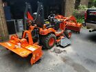 """Rotary 3 Point Tiller, Tractor PTO, COSMO Bully, 48"""", 60"""", 72"""" for Cat. 1 Hitch"""