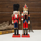 NUTCRACKER 38CM XMAS CHRISTMAS TRADITIONAL WOODEN  SOLDIER DISPLAY DECORATION