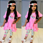 kids easter outfits - USA Toddler Kids Baby Girls Easter Tops Blouse Dress Pants Leggings Outfits HZ
