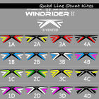 X Vented 4 Line Stunt Kites Powerkites 16 Models for Sports Kite Player Fun